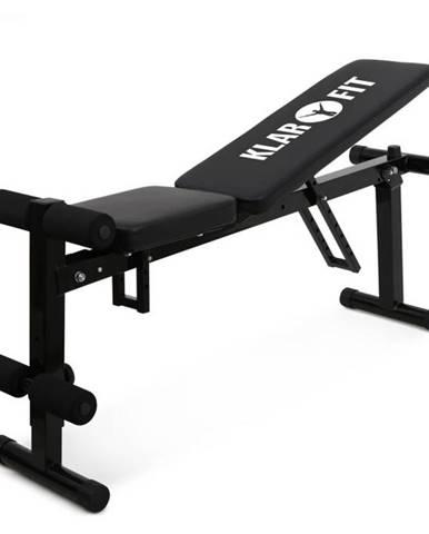 KLARFIT FIT-HB1, posilňovacia lavica pre tréning brušného svalstva