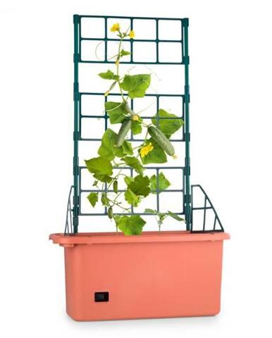 Waldbeck Power Planter, črepník, 75 x 130 x 35 cm, mriežka na popínavé rastliny, 3 poschodia, PP