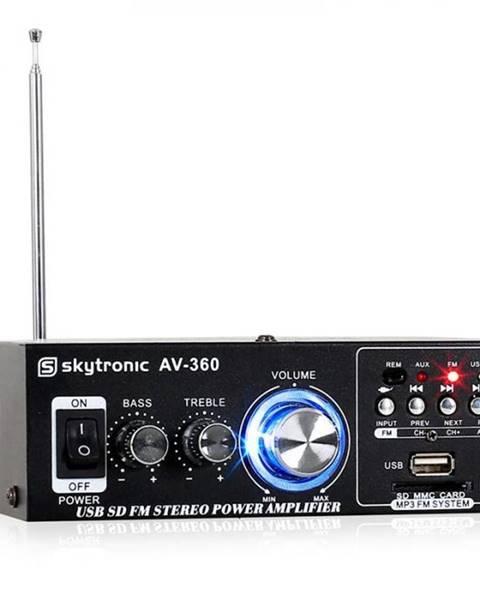 Skytronic Hi-fi stereo zosilňovač Skytronic AV-360, USB, SD, MP3, AUX