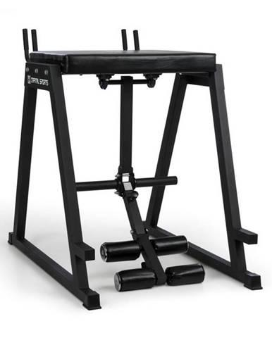 Capital Sports Rehyper, posilňovač nôh, reverzný hyper, 50 mm koncové tyče, oceľ, čierna farba
