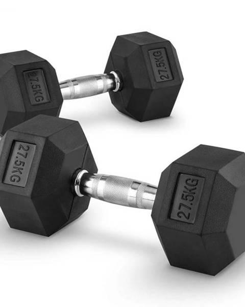 Capital Sports Capital Sports Hexbell 27.5 Dumbbell, pár jednoručných činiek, 27.5 kg