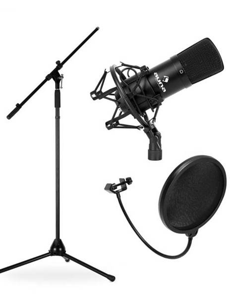 Electronic-Star Electronic-Star Mikrofónový set, stojan, mikrofón a pop filter