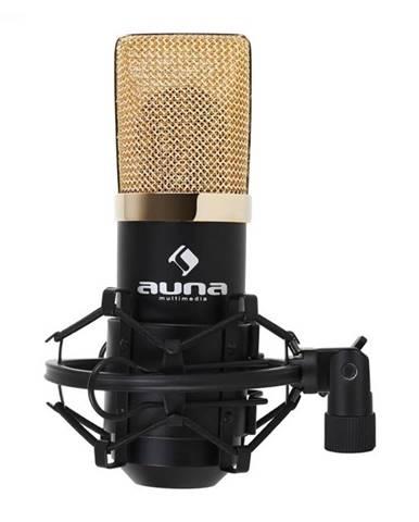 Auna Pro MIC-900BG USB kondenzátorový mikrofón, čierno-zlatý