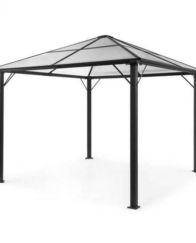 Blumfeldt Pantheon Solid Sky, altánok so strechou, 3 x 3 m, polykarbonát, hliník