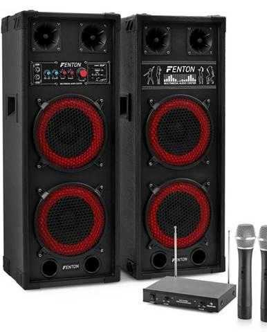 """Electronic-Star Karaoke set """"STAR-Köpenick"""" PA reproduktory, bezdrôtový mikrofón, 800W"""