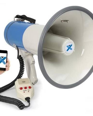 Vexus MEG055, megafón, 55 W, bluetooth, USB, SD, MP3, funkcia nahrávania, mikrofón, prevádzka na batérie