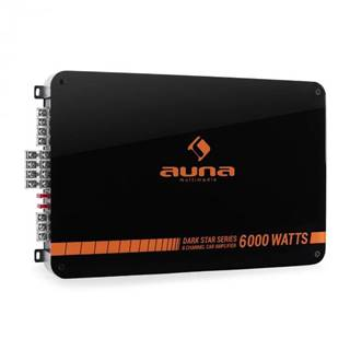 Auna Dark Star 6000, 6000 W, 6-kanálový koncový zosilňovač