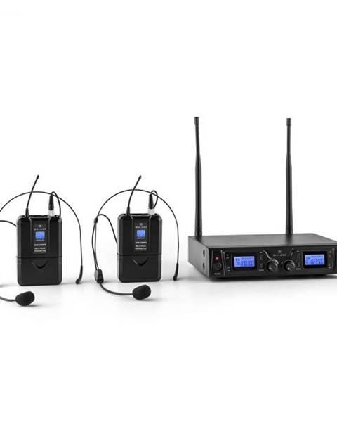 Malone Malone Duett Pro V2, 2-kanálový UHF bezdrôtový mikrofónový set, dosah 50 m