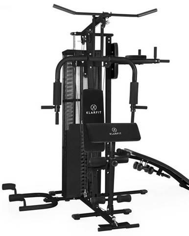 KLARFIT Ultimate Gym 5000, čierna, multifunkčná fitnes stanica