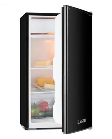 Klarstein Alleinversorger, čierna, chladnička, 90 l, trieda A+, 2 poschodia mraziaceho priečinku