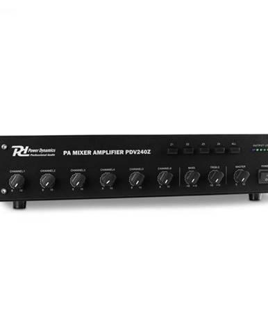 Power Dynamics PDV240Z, 240 W, 6-kanálový PA zosilňovač