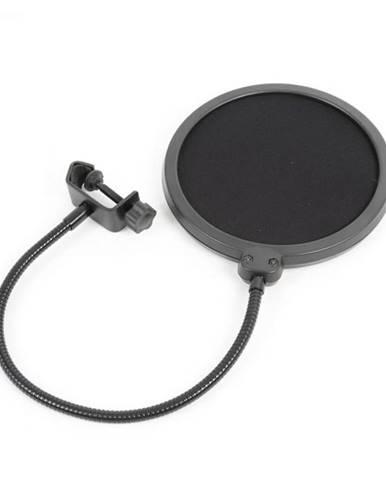 Vonyx M06 mikrofónový pop filter 6'' ochranná clona, flexibilný husí krk