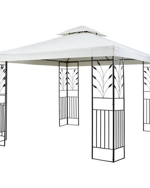 Blumfeldt Blumfeldt Odeon Beige, záhradný pavilón, altán, 3 x 3 m, oceľ, polyester, svetlobéžový