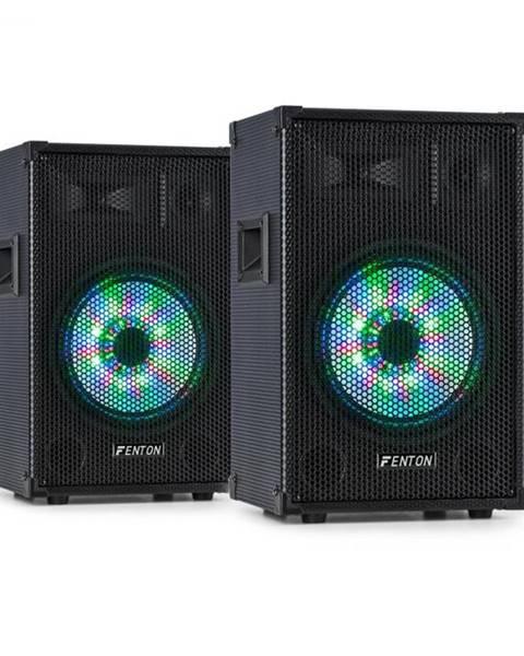 """Fenton Fenton TL10LED, pár 3-cestných pasívnych reproduktorov, RGB-LED, 10"""" Woofer, 500 W tweeter"""