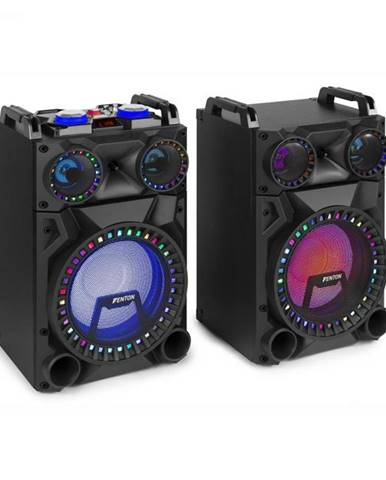 "Fenton VS12, sada aktívnych reproduktorov, 1200 W, 12"" subwoofer, BT, USB port, SD Slot, LED"