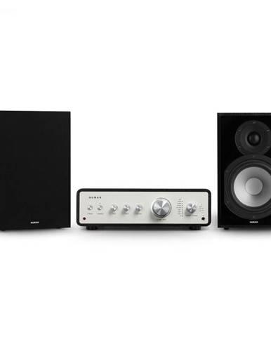 Numan Drive 802, stereo sada, stereo zosilňovač, regálový reproduktor, čierna