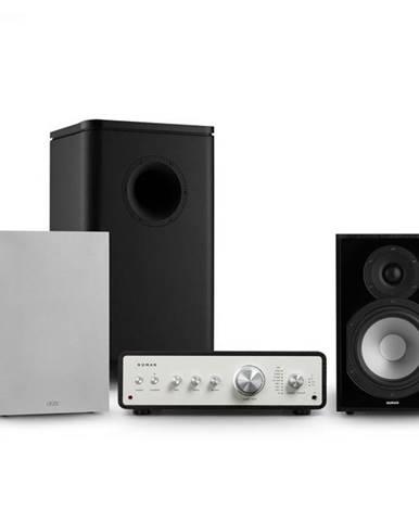 Numan Drive 802, stereo sada, zosilňovač, reproduktor, subwoofer, kryt, čierna/sivá