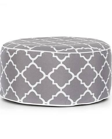 Blumfeldt Cloudio, sedačka, nafukovacia, 55 x 28 cm (Ø x V), PVC/polyester, sivá