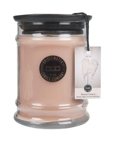 Sviečka v sklenenej dóze s vôňou orientu Bridgewater candle Company Sweet Grace, doba horenia 65-85 hodín