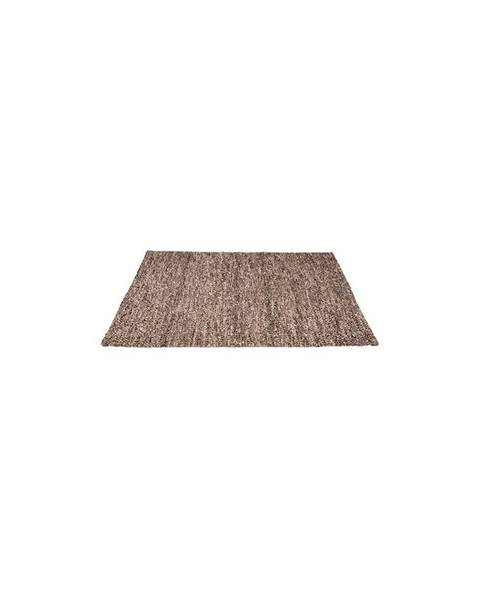 LABEL51 Hnedý koberec LABEL51 Dynamic, 140 x 160 cm
