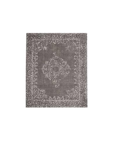 Tmavosivý koberec LABEL51 Vintage, 160 x 140 cm