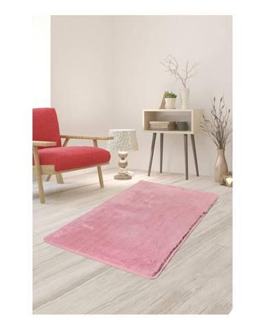 Svetloružový koberec Milano, 120 × 70 cm