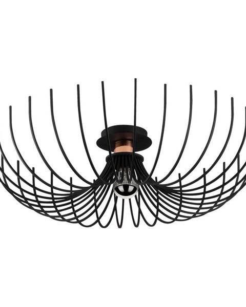 Opviq lights Čierne stropné svietidlo Opviq lights Aspendos, ø 56 cm