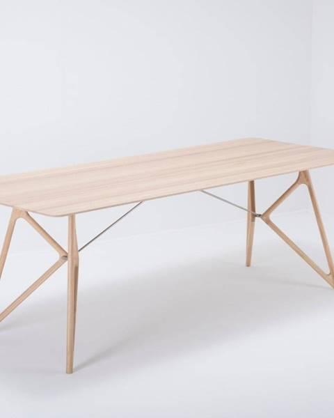 Gazzda Jedálenský stôl z masívneho dubového dreva Gazzda Tink, 220×90cm