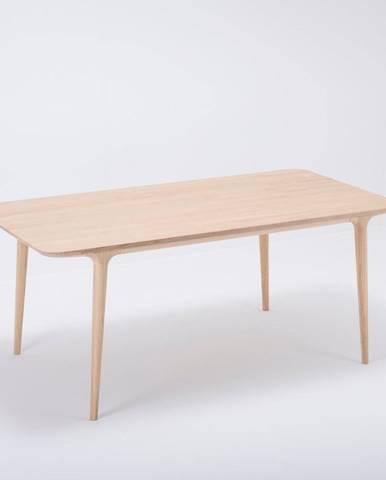 Jedálenský stôl z masívneho dubového dreva Gazzda Fawn, 180×90cm