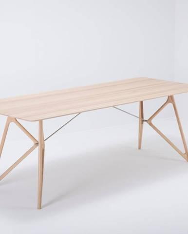 Jedálenský stôl z masívneho dubového dreva Gazzda Tink, 220×90cm