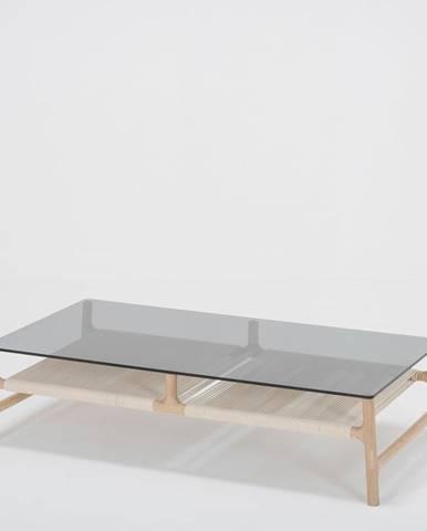 Konferenčný stolík z masívneho dubového dreva Gazzda Fawn, 120 x 60cm