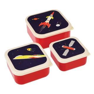 Sada 3 desiatových boxov Rex London Space Age