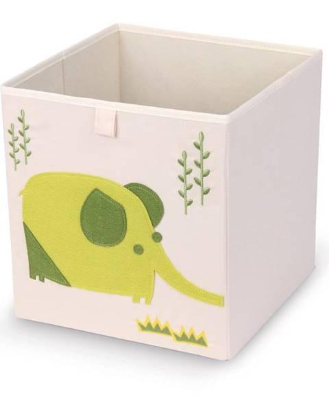 Domopak Úložný box Domopak Elephant, 27 x 27 cm