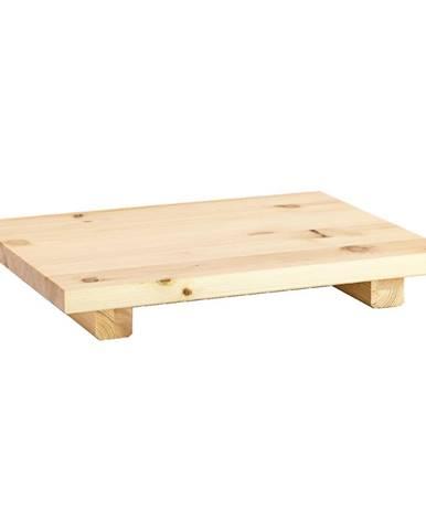 Súprava 2 nočných stolíkov z borovicového dreva v prírodnej farbe Karup Design Dock Natural