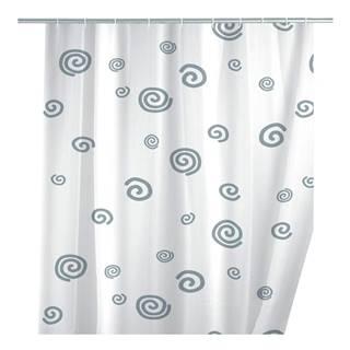 Sprchový záves Wenko Snail, 180 x 200 cm