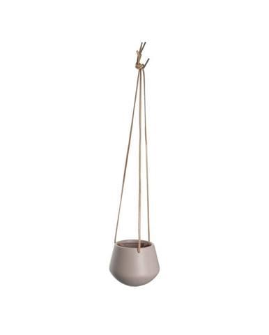 Svetloružový závesný kvetináč Present Time Skittle, ⌀ 12,2cm