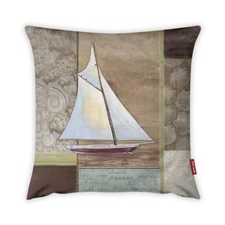 Obliečka na vankúš Vitaus Boat, 43×43 cm