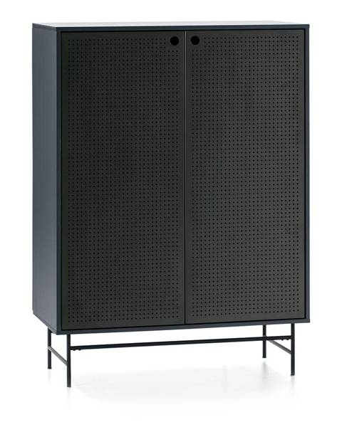 Teulat Čierno-modrá skrinka Teulat Punto
