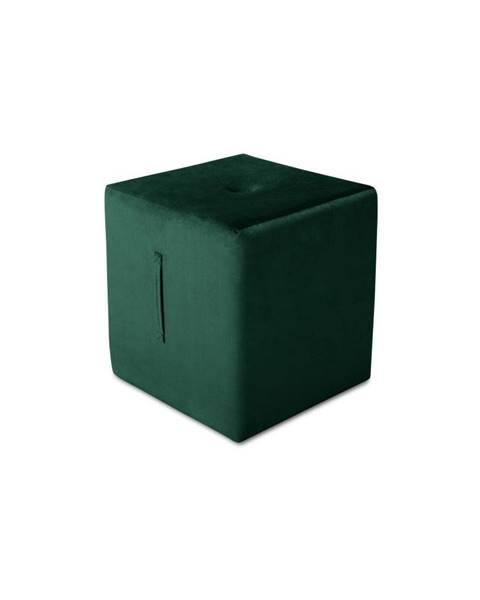 Mazzini Sofas Zelený puf Mazzini Sofas Margaret, 40 × 45 cm