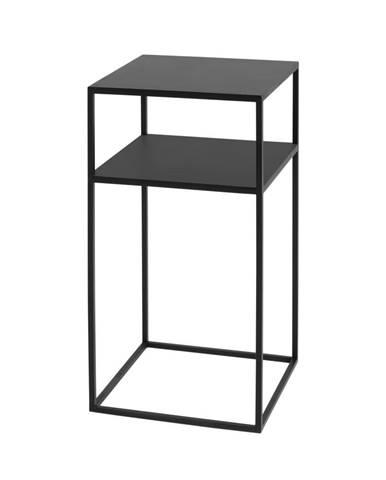 Čierny odkladací stolík Custom Form Tensio