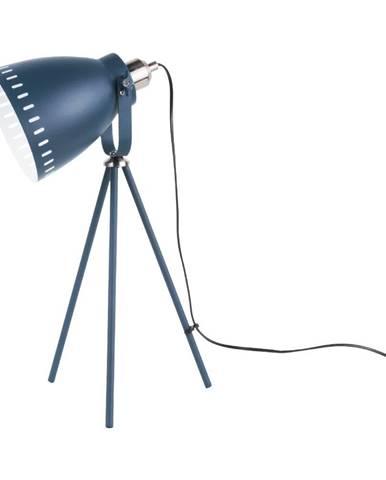 Tmavomodrá stolová lampa Laitmotiv Mingle