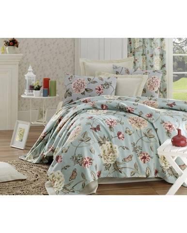 Bavlnený pléd cez posteľ na dvojlôžko Single Pique Rasso, 200 × 235 cm