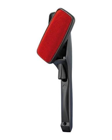 Čierno-červená kefa na odstraňovanie chĺpkov s rotačnou hlavicou Wenko Twist