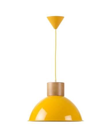 Žlté závesné svietidlo Really Nice Things Madera