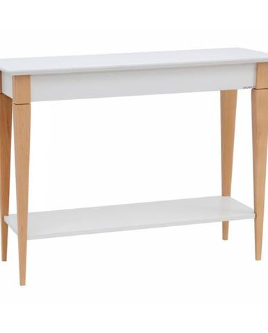 Biely konzolový stolík Ragaba Mimo, šírka 105 cm