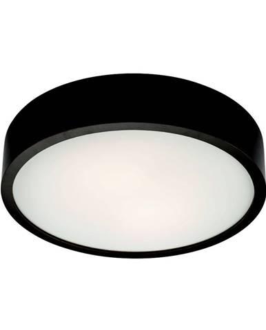 Čierne kruhové stropné svietidlo Lamkur Plafond, ø 37 cm