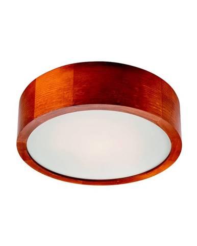 Hnedé kruhové stropné svietidlo Lamkur Plafond, ø 27 cm