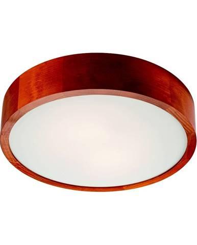 Hnedé kruhové stropné svietidlo Lamkur Plafond, ø 37 cm