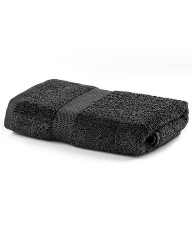 Tmavosivý uterák DecoKing Marina, 50 × 100 cm