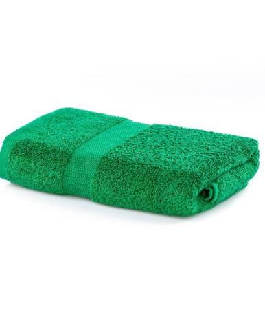 Zelený uterák DecoKing Marina, 50 × 100 cm